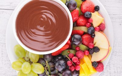 A Taste of NHBP: Chocolate Fruit Dip and National Nutrition Month