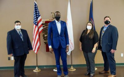 Nottawaseppi Huron Band of the Potawatomi Hosts Michigan Lt. Governor Garlin Gilchrist