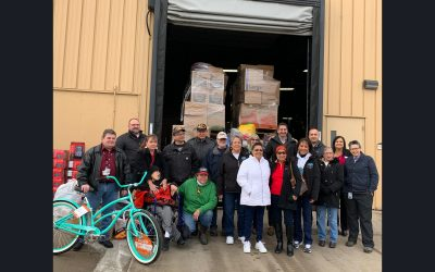 The Nottawaseppi Huron Band of the Potawatomi Collaborates to Provide Necessities for Pine Ridge Indian Reservation