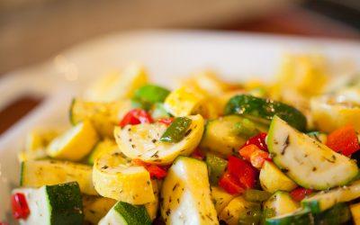 A Taste of NHBP: Summer Squash Salad and Farmers Markets